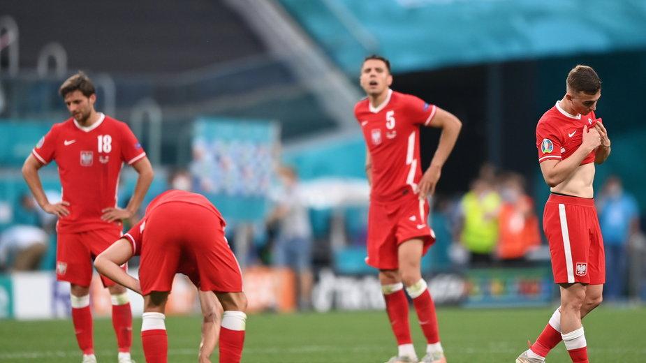 Biało-Czerwoni rozczarowali na Euro 2020. Pretensji nie możemy mieć jedynie do kilku zawodników
