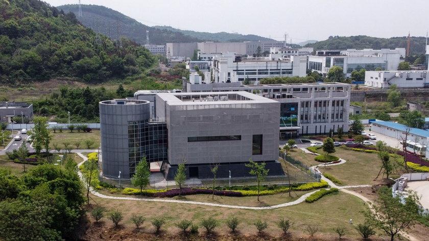 Widok na Laboratorium P4 w Wuhan. Laboratorium powstało we współpracy z Francuzami.