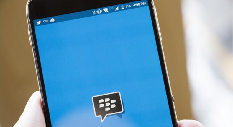 BBM, one of the oldest messaging platforms (crackberry)