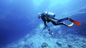 Coraz więcej osób spędza wakacje pod wodą