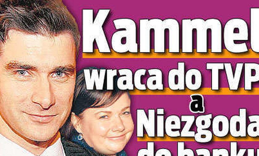 Kammel wraca do TVP, a Niezgoda do banku