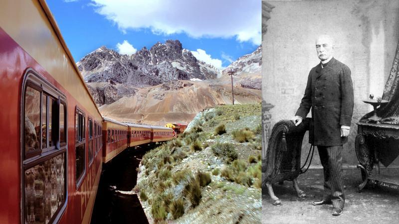 Andyjska linia z Limy do Huancayo i Ernest Malinowski