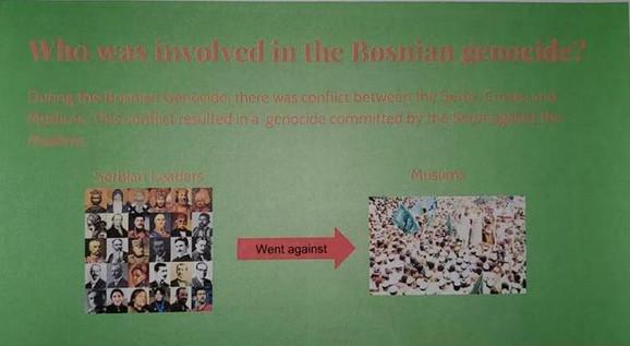 TESLA, NJEGOŠ, VUK KARADŽIĆ I ĐOKOVIĆ KAO RATNI ZLOČINCI: Stranica skripte iz koje su doskora o ratu u Bosni učila deca u Čikagu
