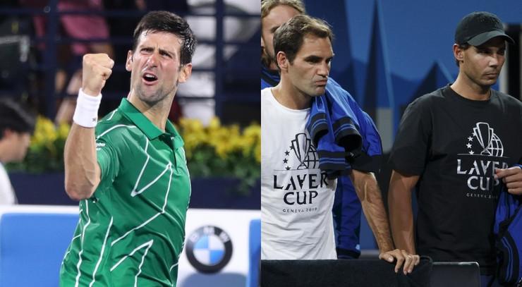Đoković, Federer i Nadal