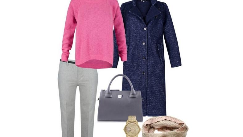 Co cygaretek, spodni typu baggy i boyfriend postaw na krótki sweter, który nie będzie zakrywał Twoich bioder, aby zachować odpowiednie proporcje.