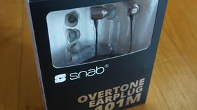Snab Overtone EP-101M - test polskich słuchawek do smartfona