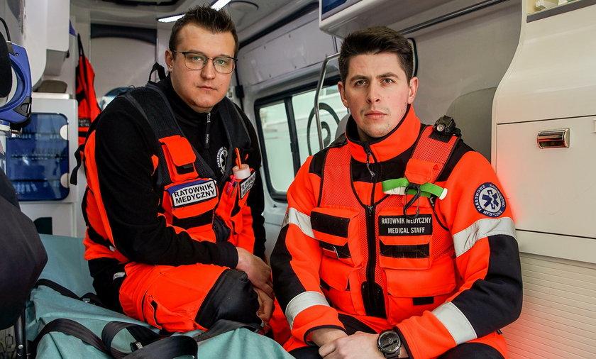 Tomasz Frydrych (27 l.) i Wojciech Mieszczański (29 l.), ratownicy z Trójmiasta