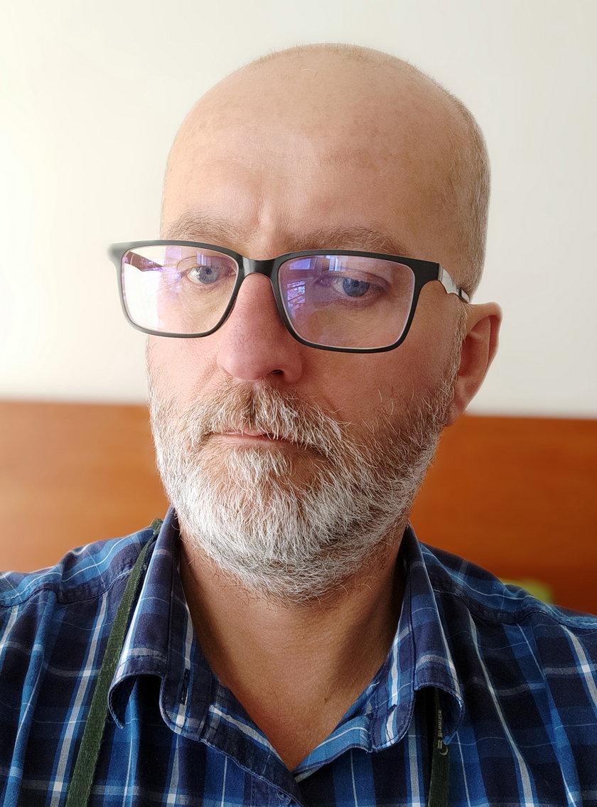Maciej Kmera z rynku hurtowego Bronisze
