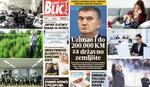 """EuroBlic"" za 27.10. ""DOLIJAO"" KUM ZA DRŽAVNO ZEMLJIŠTE Tarifa za ""zeleno svetlo"" do 200.000 maraka"