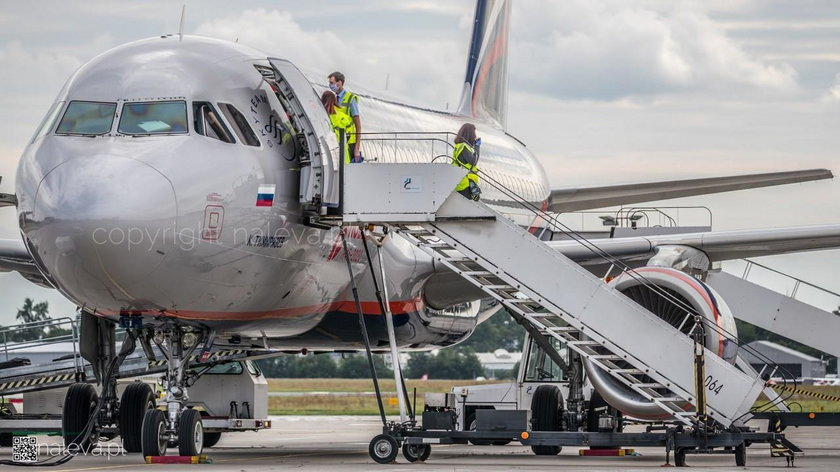 Rosjanie wylądowali na lotnisku w Łodzi