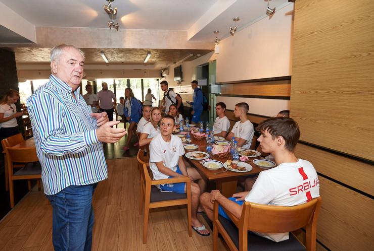 Božidar Maljković, Žarko Zečević, Olimpijski komitet Srbije