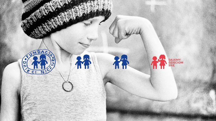 Znalezione obrazy dla zapytania: logo fundacji dajemy dzieciom siłe