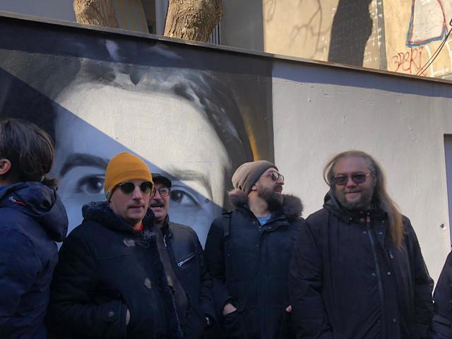 Otkrivanje murala Marinku Madžgalju