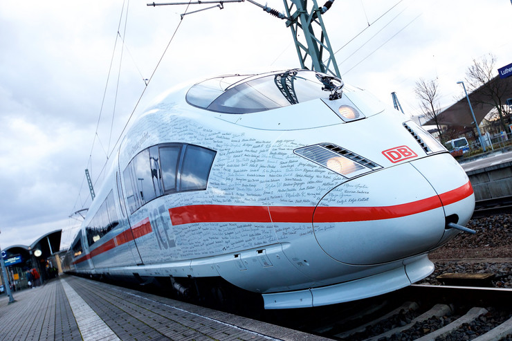 Nemačka, železnica, EPA Steffens