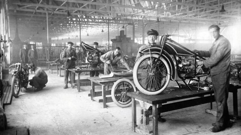 Produkcja motocykla BMW R32