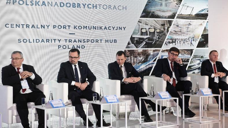 Andrzej Adamczyk, Marcin Horała, Mikołaj Wild, Krzysztof Mamiński