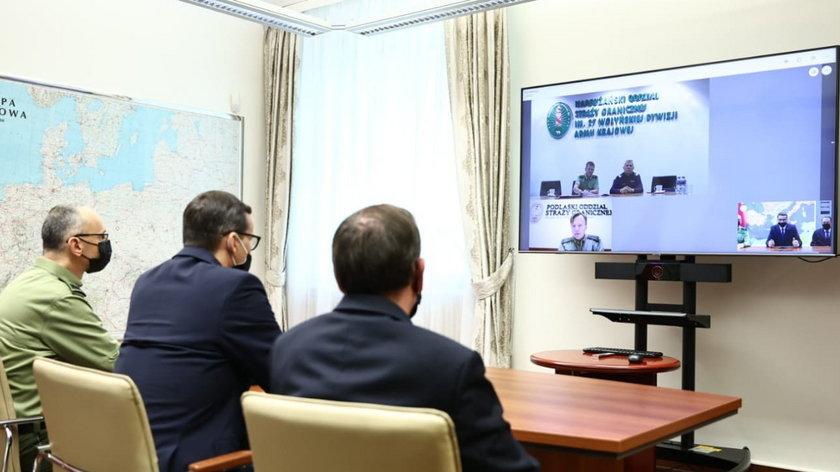 Konferencja premiera Mateusza Morawieckiego ws. uchodźców