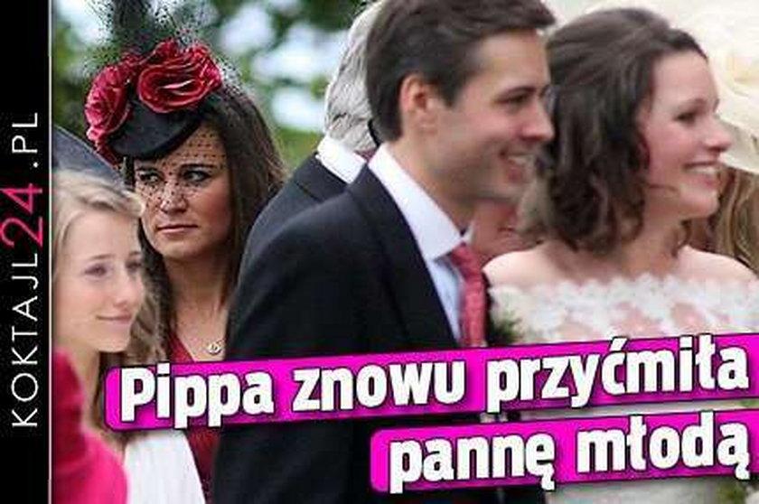 Pippa znowu przyćmiła pannę młodą