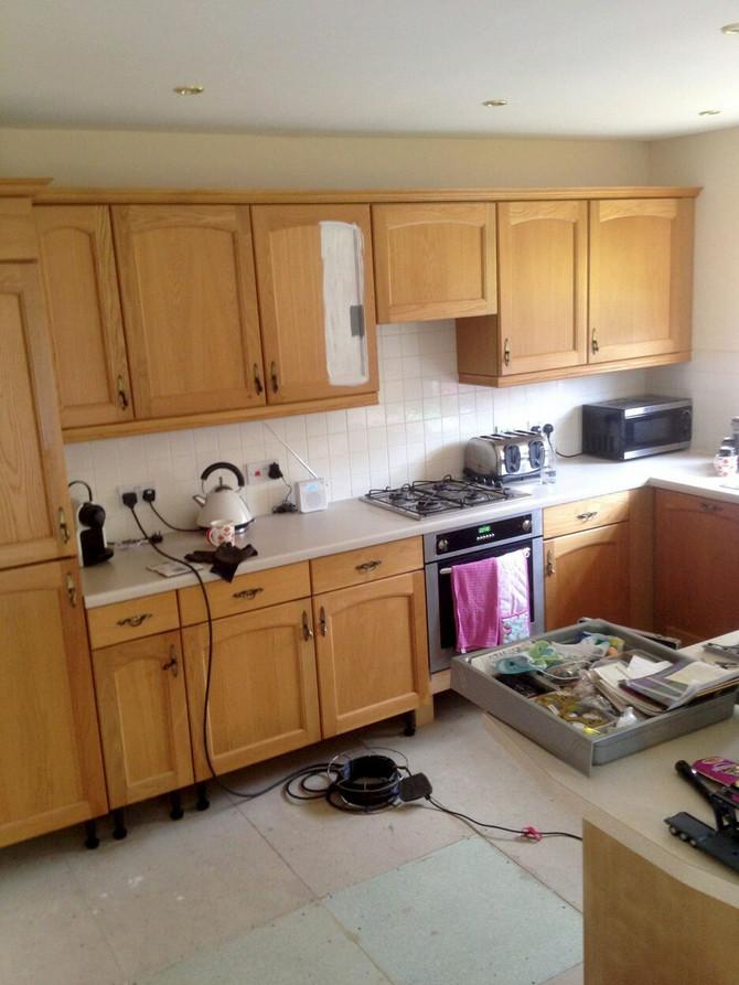 Ovako je izgledala kuhinja