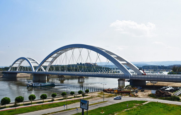 Zezeljev most spremanje za svecano otvaranje foto Nenad Mihajlovic preview