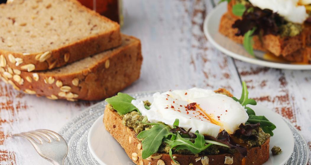 Pesto Eggs