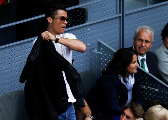 Kristijano Ronaldo gledao Nadala i Souzu