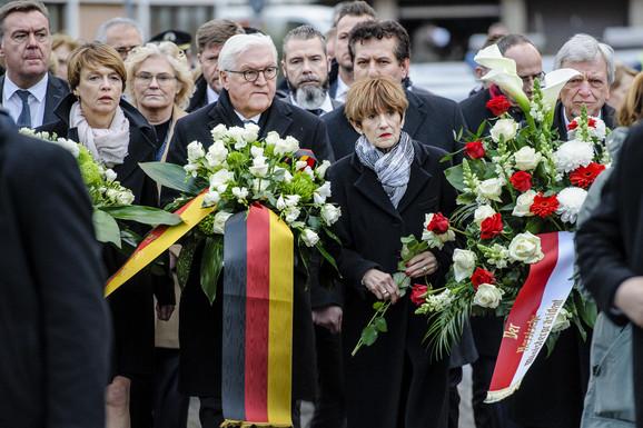 Predsednik Nemačke Frank Valter Štajnmajer položio je venac na mestu napada