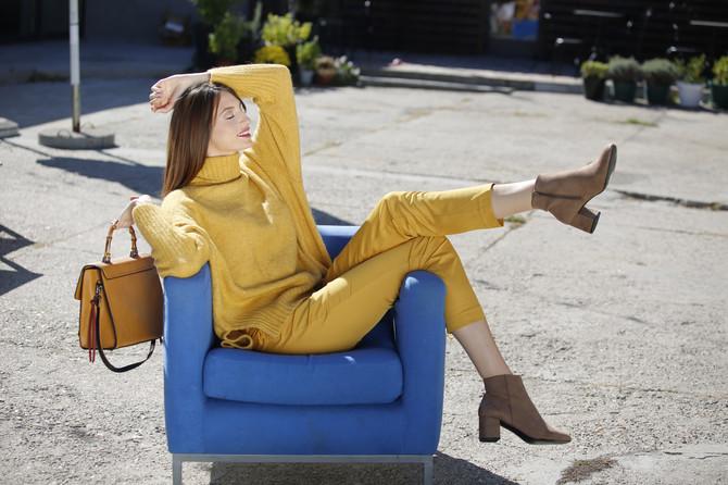 Sunce, limun ili pile, koja god da vam je asocijacja na žutu boju izmamiće vam osmeh na lice