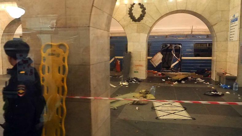 Rosyjscy śledczy: zamach w Petersburgu finansowany z zagranicy