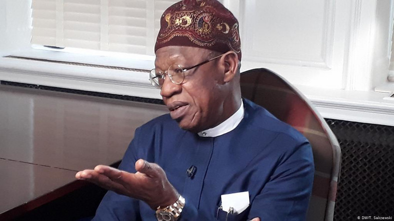 Minister of Information and Culture, Lai Mohammed, has repeatedly spoken about the damage fake news can cause (DW)