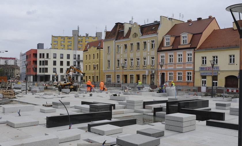 Remont na Psim Polu we Wrocławiu
