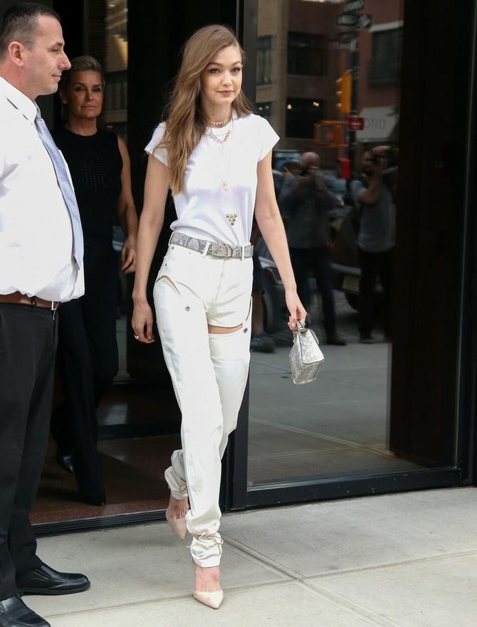 Điđi Hadid na ulice Njujorka donosi modne novitete