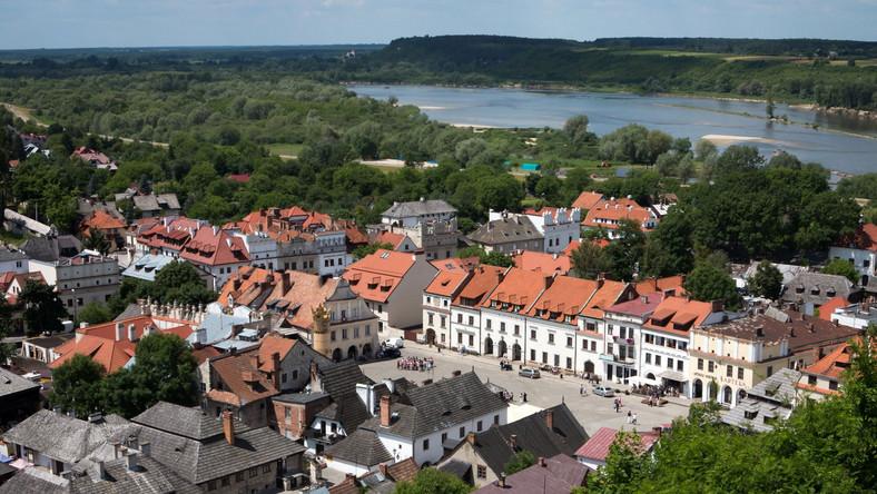 Festiwal odbywa się w Kazimierzu Dolnym nad Wisłą