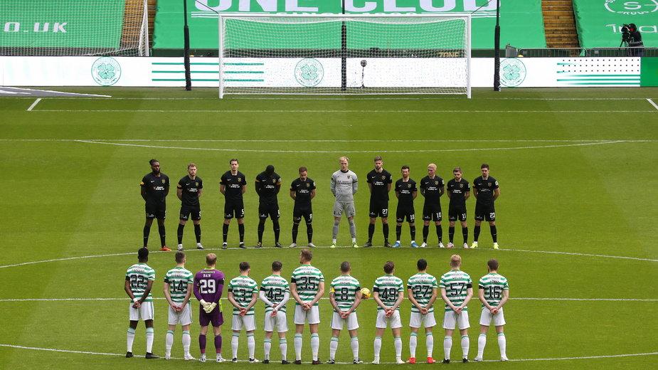 Dwie minuty ciszy ku czci księcia Filipa przed meczem Celtic - Livingston