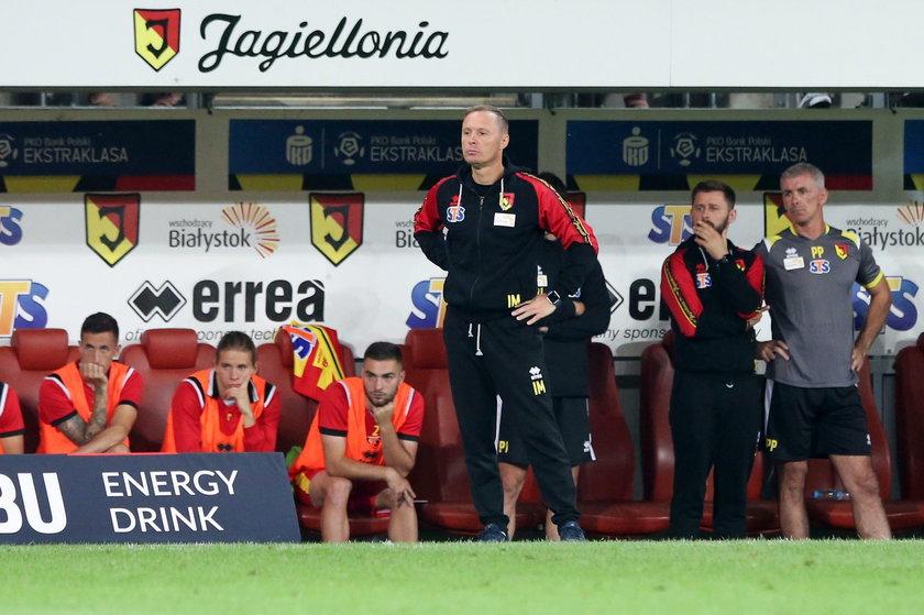 Czy dni trenera Ireneusza Mamrota są już w Białymstoku policzone?