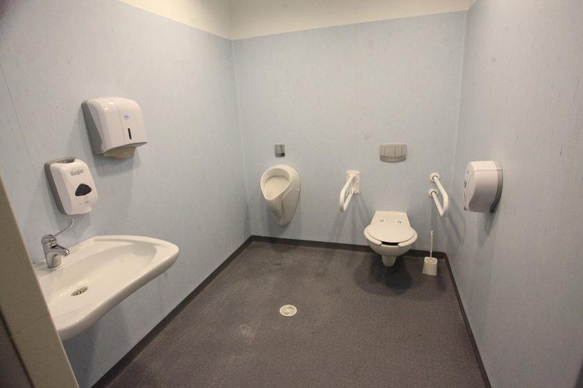 Toaleta SOR szpitala Copernicus