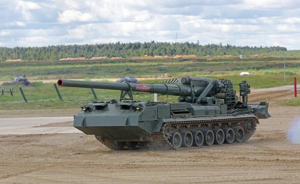 Rosyjskie działo samobieżne 2S7M Małka kalibru 230 mm