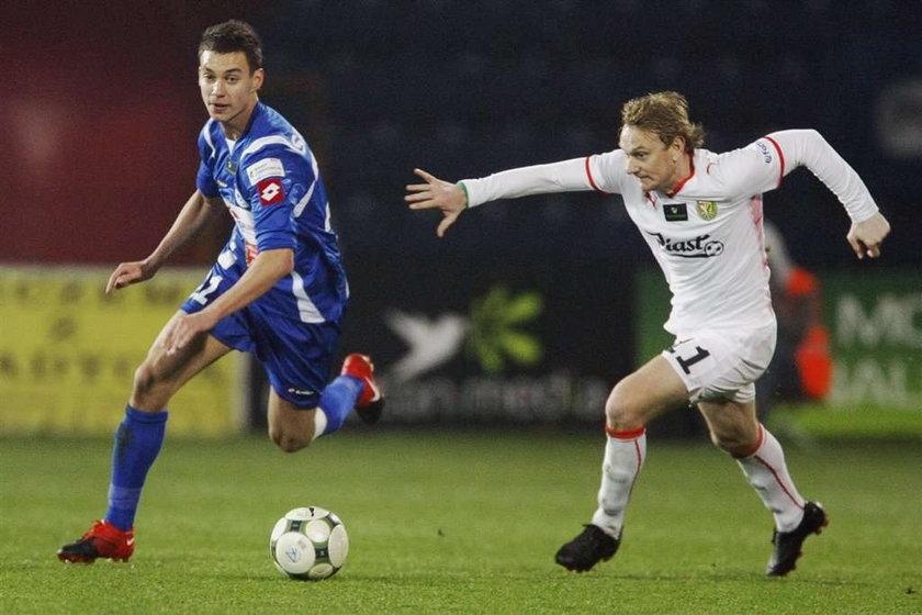 Ruch chorzów stracił punkty w meczu ze Śląskiem Wrocław