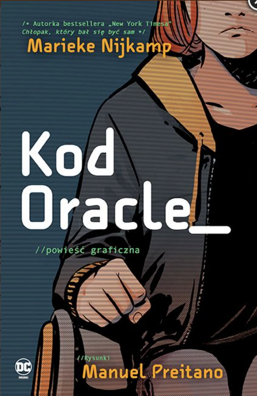 """Kod Oracle"". Okładka albumu."
