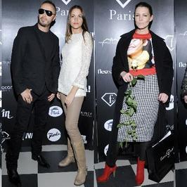 """Gwiazdy na otwarciu butiku """"I Love Fashion Paris"""""""