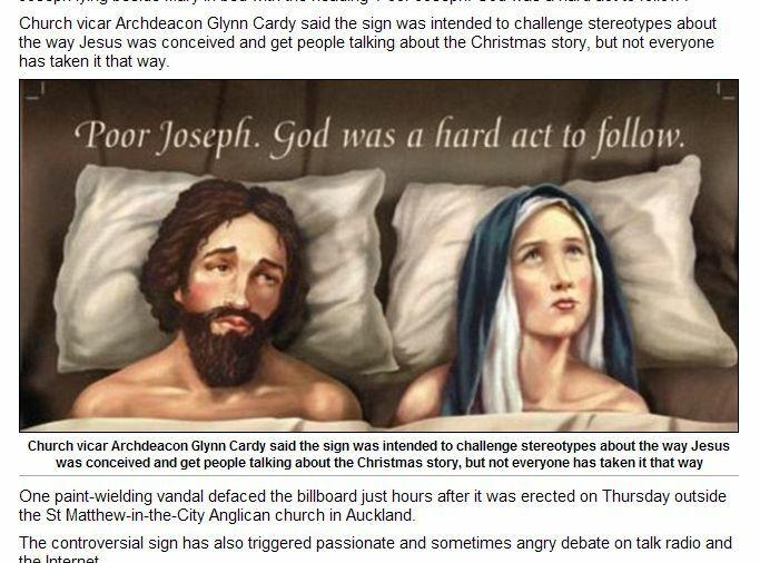 Józef w łóżku z Maryją: Ciężko przebić Boga