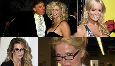 SVE PREDSEDNIKOVE PORNO-ZVEZDE Tramp je jednoj nudio 10.000 dolara za seks, drugu je zvao u TROJKU (FOTO)