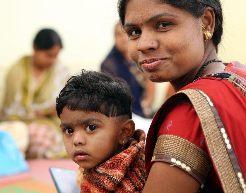 Dziewczynki w Indiach wydawane za mąż