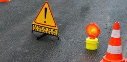 Groźny wypadek pod Elblągiem. Kierowca zrobił to celowo?