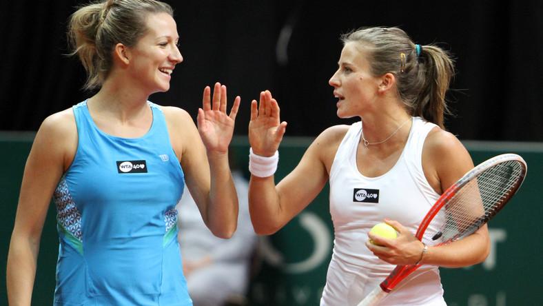 Marta Domachowska i Alicja Rosolska