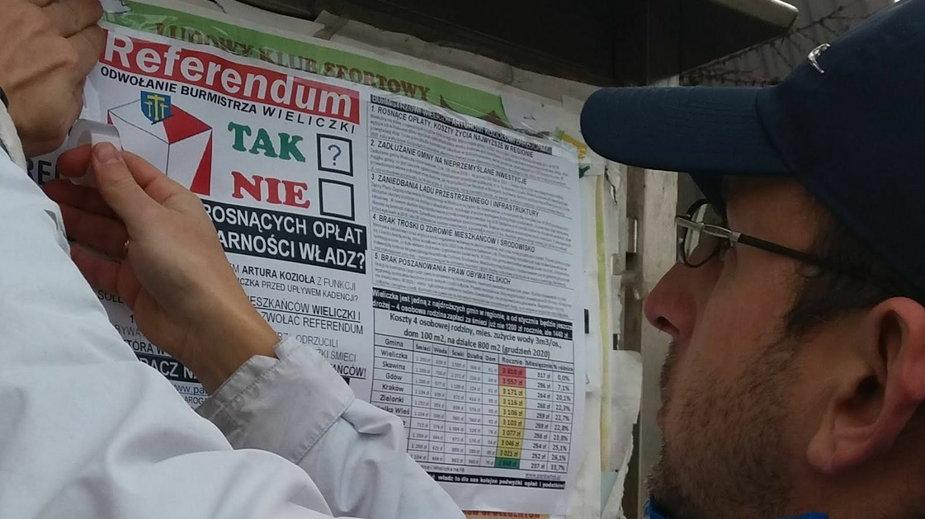 Referendum w sprawie odwołania burmistrza Wieliczki