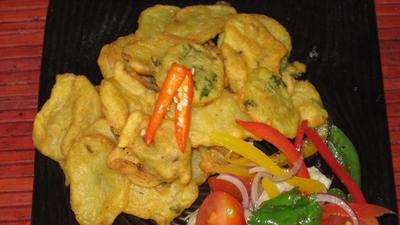 How to make crispy, golden Bhajia