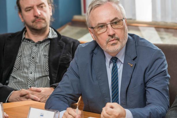Krzysztof Woźniak, kierownik Działu Akredytacji Inspekcji, Certyfikacji Wyrobów i Osób PCA