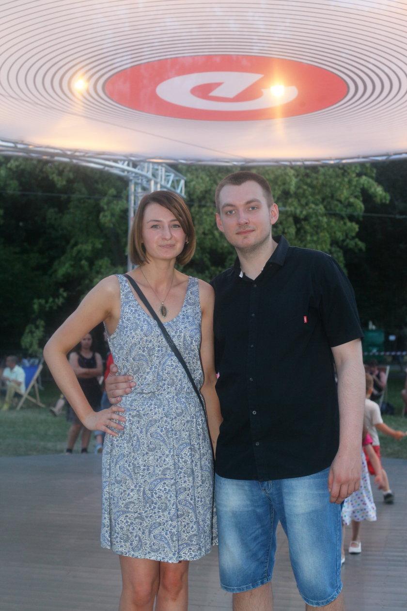 Anna Gilewska (28l.) i Piotr Celiński (28l.)