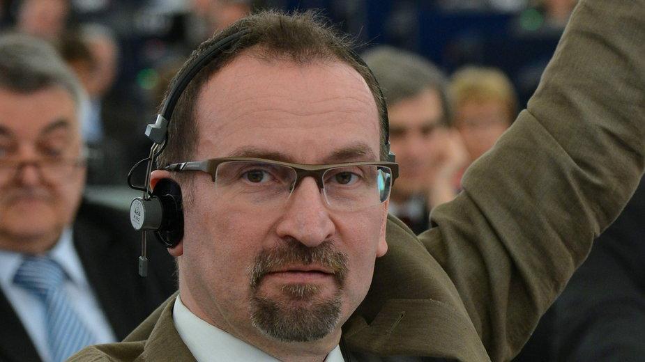 Jozsef Szajer, jeden z założycieli Fideszu, partii premiera Viktora Orbana